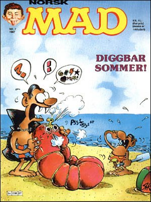 MAD Magazine #62 • Norway • 2nd Edition - Semic