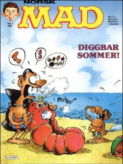 Go to MAD Magazine #7 1986 • Norway • 2nd Edition - Semic