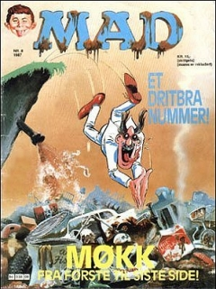 Go to MAD Magazine #8 1986 • Norway • 2nd Edition - Semic