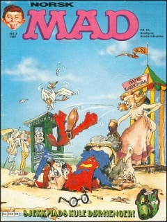 Go to MAD Magazine #9 1986 • Norway • 2nd Edition - Semic