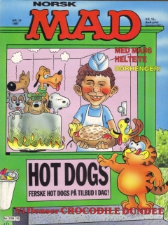 Go to MAD Magazine #10 1986 • Norway • 2nd Edition - Semic