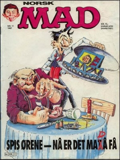 Go to MAD Magazine #11 1986 • Norway • 2nd Edition - Semic