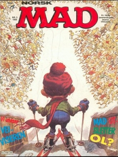 MAD Magazine #70 • Norway • 2nd Edition - Semic