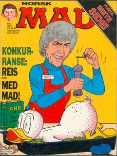 Go to MAD Magazine #4 1987 • Norway • 2nd Edition - Semic