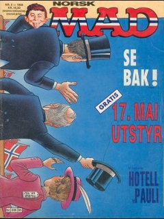 Go to MAD Magazine #5 1987 • Norway • 2nd Edition - Semic