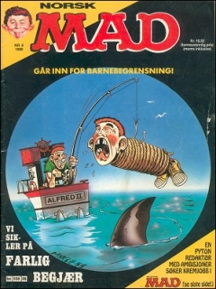 Go to MAD Magazine #6 1987 • Norway • 2nd Edition - Semic
