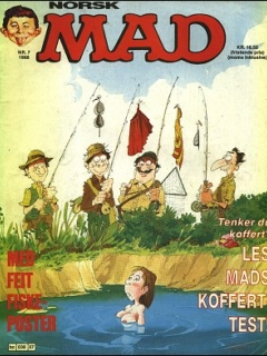 Go to MAD Magazine #7 1987 • Norway • 2nd Edition - Semic
