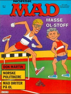 Go to MAD Magazine #9 1987 • Norway • 2nd Edition - Semic