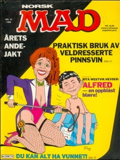 Go to MAD Magazine #10 1987 • Norway • 2nd Edition - Semic