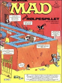 Go to MAD Magazine #11 1987 • Norway • 2nd Edition - Semic