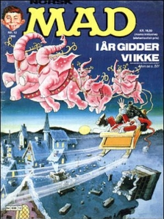 Go to MAD Magazine #12 1987 • Norway • 2nd Edition - Semic