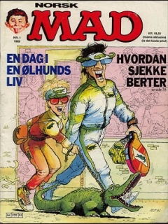 Go to MAD Magazine #1 1988 • Norway • 2nd Edition - Semic