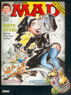 Go to MAD Magazine #4 1988 • Norway • 2nd Edition - Semic