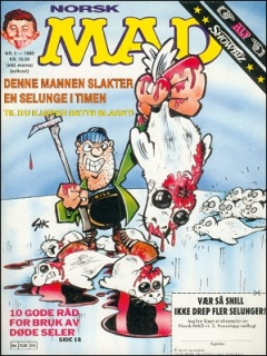 Go to MAD Magazine #5 1988 • Norway • 2nd Edition - Semic