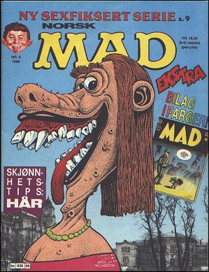 MAD Magazine #85 • Norway • 2nd Edition - Semic