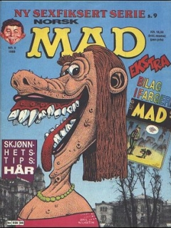 Go to MAD Magazine #6 1988 • Norway • 2nd Edition - Semic