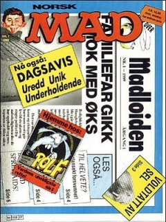 Go to MAD Magazine #86 • Norway • 2nd Edition - Semic