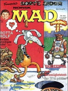Go to MAD Magazine #8 1988 • Norway • 2nd Edition - Semic