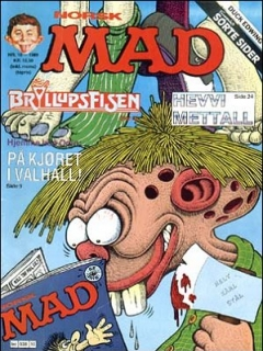 Go to MAD Magazine #10 1988 • Norway • 2nd Edition - Semic