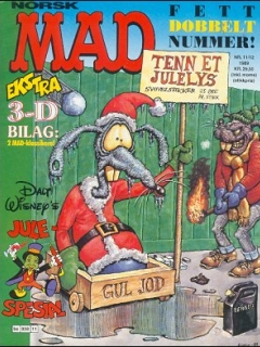 Go to MAD Magazine #11 1988 • Norway • 2nd Edition - Semic