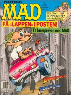 Go to MAD Magazine #1 1989 • Norway • 2nd Edition - Semic