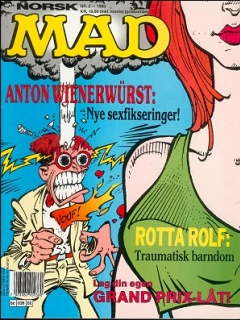 Go to MAD Magazine #2 1989 • Norway • 2nd Edition - Semic