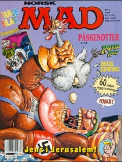 Go to MAD Magazine #3 1989 • Norway • 2nd Edition - Semic