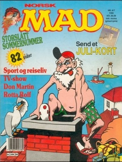 Go to MAD Magazine #6 1989 • Norway • 2nd Edition - Semic