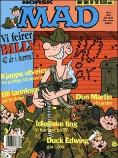 Go to MAD Magazine #8 1989 • Norway • 2nd Edition - Semic