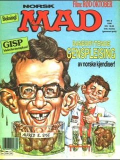 Go to MAD Magazine #9 1989 • Norway • 2nd Edition - Semic