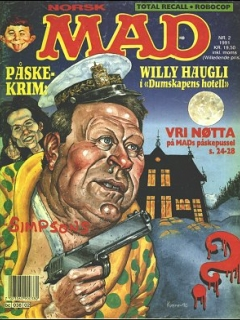 Go to MAD Magazine #2 1990 • Norway • 2nd Edition - Semic