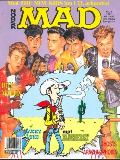 Go to MAD Magazine #3 1990 • Norway • 2nd Edition - Semic