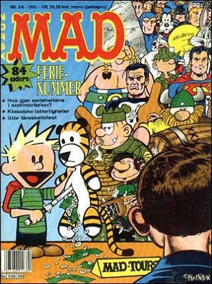 MAD Magazine #5 • Norway • 2nd Edition - Semic