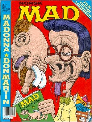 MAD Magazine #7 • Norway • 2nd Edition - Semic
