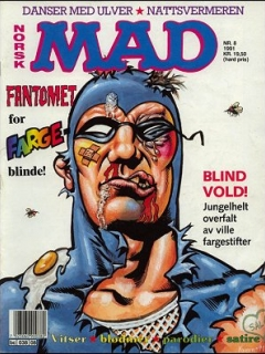 Go to MAD Magazine #8 1990 • Norway • 2nd Edition - Semic