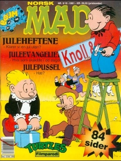 Go to MAD Magazine #9 1990 • Norway • 2nd Edition - Semic
