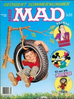 Go to MAD Magazine #2 1991 • Norway • 2nd Edition - Semic