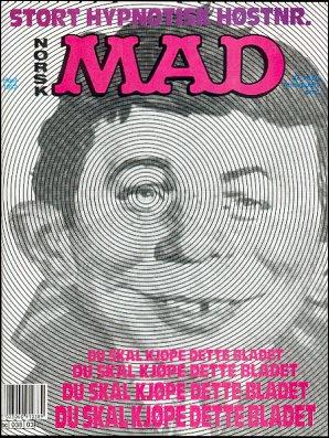 MAD Magazine #3 • Norway • 2nd Edition - Semic