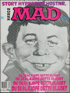 Go to MAD Magazine #3 1991 • Norway • 2nd Edition - Semic