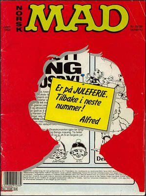 MAD Magazine #4 • Norway • 2nd Edition - Semic