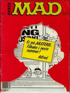 Go to MAD Magazine #4 1991 • Norway • 2nd Edition - Semic