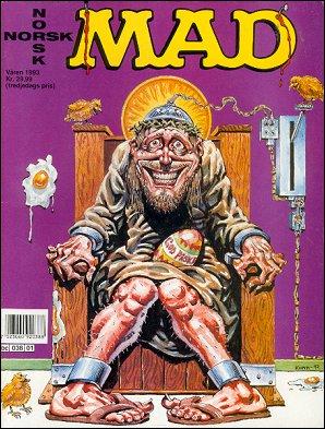 MAD Magazine #1 • Norway • 2nd Edition - Semic