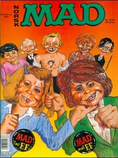 Go to MAD Magazine #2 1992 • Norway • 2nd Edition - Semic