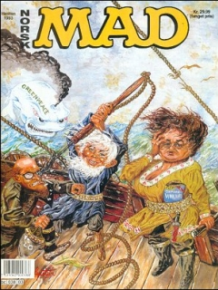Go to MAD Magazine #3 1992 • Norway • 2nd Edition - Semic