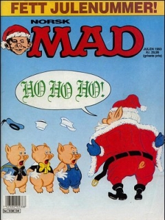 Go to MAD Magazine #4 1992 • Norway • 2nd Edition - Semic