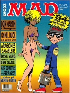 Go to MAD Magazine #2 1993 • Norway • 2nd Edition - Semic
