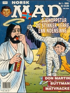 MAD Magazine #1 (Norway)