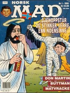 Go to MAD Magazine #1 1994 • Norway • 3rd Edition - Bladkompaniet