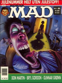 MAD Magazine #2 • Norway • 3rd Edition - Bladkompaniet