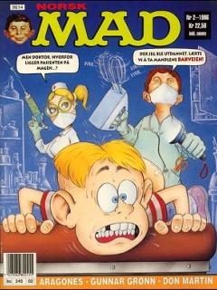 Go to MAD Magazine #2 1995 • Norway • 3rd Edition - Bladkompaniet